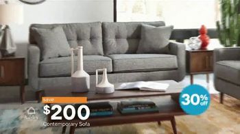 Ashley HomeStore Columbus Day Sale TV Spot, 'Discover Savings: Sofa' - Thumbnail 6