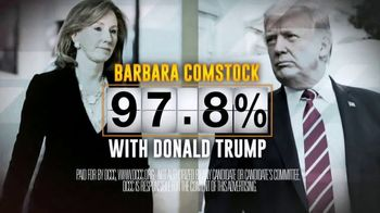 Democratic Congressional Campaign Committee TV Spot, 'Barbara Comstock for Trump' - Thumbnail 8