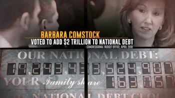 Democratic Congressional Campaign Committee TV Spot, 'Barbara Comstock for Trump' - Thumbnail 5