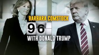 Democratic Congressional Campaign Committee TV Spot, 'Barbara Comstock for Trump' - Thumbnail 7