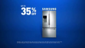 Lowe's TV Spot, 'Samsung Refrigerator' - Thumbnail 8