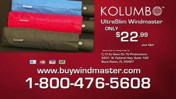 Kolumbo UltraSlim Windmaster TV Spot, 'Unexpected Downpours' - Thumbnail 9