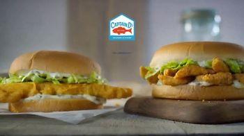 Captain D's Giant Sandwiches TV Spot, 'Fish and Catfish' - Thumbnail 1