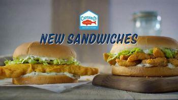 Captain D's Giant Sandwiches TV Spot, 'Fish and Catfish' - Thumbnail 2