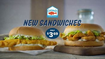 Captain D's Giant Sandwiches TV Spot, 'Fish and Catfish'