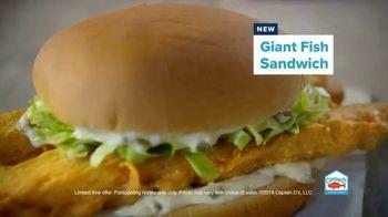 Captain D's Giant Sandwiches TV Spot, 'Fish and Catfish' - Thumbnail 4