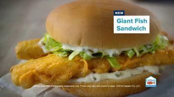 Captain D's Giant Sandwiches TV Spot, 'Fish and Catfish' - Thumbnail 5