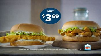 Captain D's Giant Sandwiches TV Spot, 'Fish and Catfish' - Thumbnail 8
