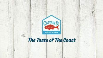 Captain D's Giant Sandwiches TV Spot, 'Fish and Catfish' - Thumbnail 9