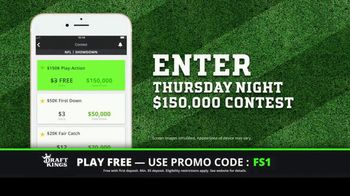 DraftKings TV Spot, '$150,000 Contest' - 3 commercial airings