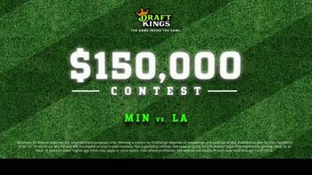 DraftKings TV Spot, '$150,000 Contest' - Thumbnail 9
