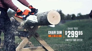 STIHL TV Spot 'Real People: Jen and Justin: Blower and Chainsaw' - Thumbnail 8