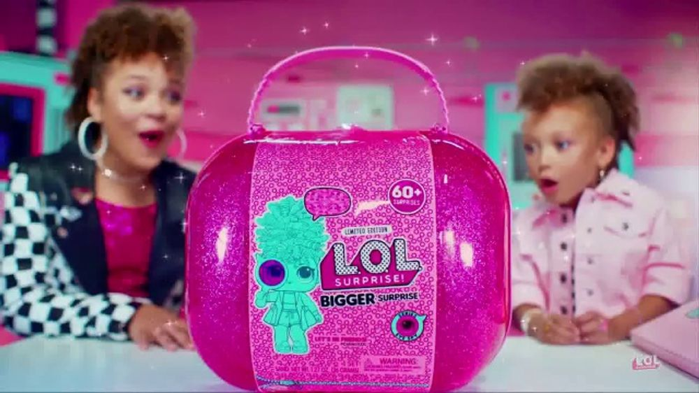 L O L  Surprise! Bigger Surprise TV Commercial, '60+ Surprises' - Video