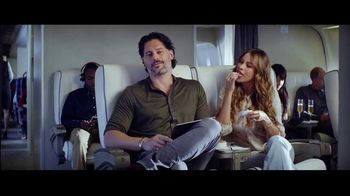Hulu TV Spot, 'Never Fly First Class' Featuring Sofia Vergara, Joe Manganiello