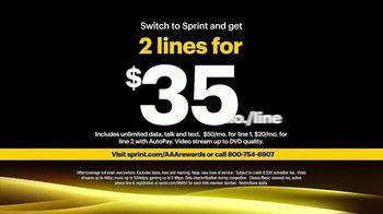 Sprint Unlimited 55+ TV Spot, 'Aunt Katy: AAA' - Thumbnail 8