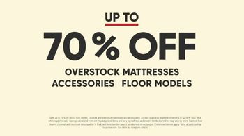 Mattress Firm Model Closeout Event TV Spot, 'Save on Overstock' - Thumbnail 3