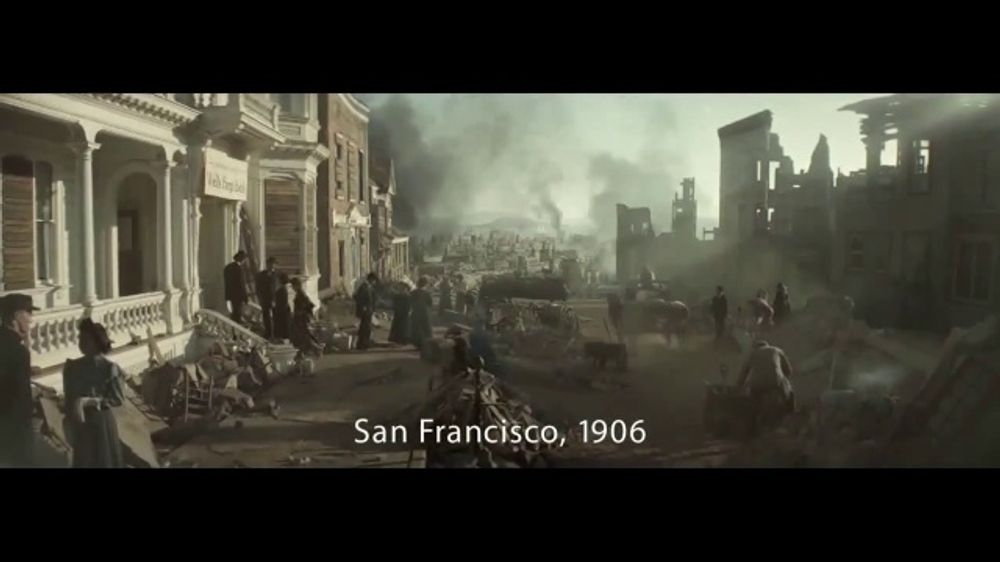 Wells Fargo Overdraft Rewind TV Commercial, 'San Francisco in 1906' Song by  The Black Keys - Video