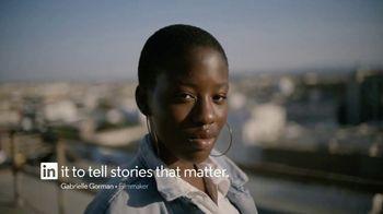 LinkedIn TV Spot, 'In It to Tell Stories: Gabrielle Gorman'