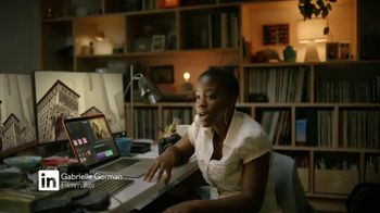 LinkedIn TV Spot, 'In It to Tell Stories: Gabrielle Gorman' - Thumbnail 2