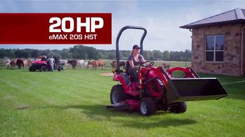 Mahindra eMax 20S HST TV Spot, 'More Tractor for Less' - Thumbnail 5