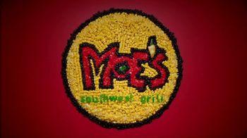 Moe's Southwest Grill Homewrecker Burrito TV Spot, 'All Natural' - Thumbnail 1