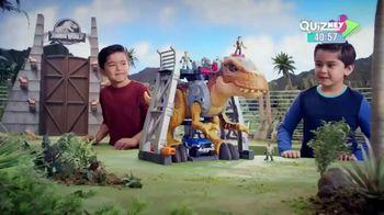 Imaginext Jurassic World Jurassic Rex TV Spot, 'Disney Channel: Next Level' - Thumbnail 1
