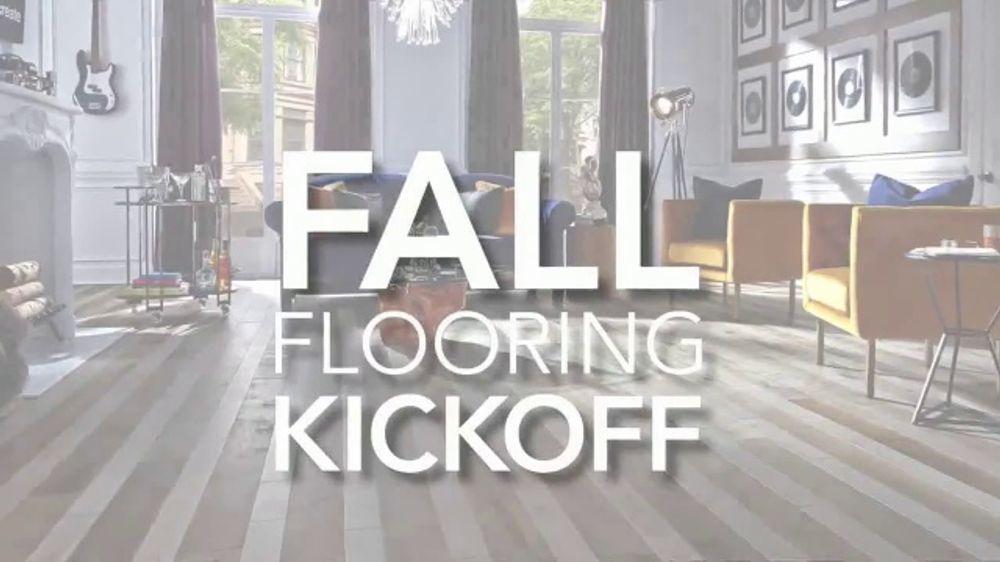 Lumber Liquidators Fall Flooring Kickoff TV Commercial, 'New Hardwood: $1 Off'