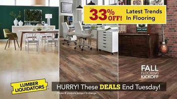 Lumber Liquidators Fall Flooring Kickoff TV Spot, 'New Hardwood: $1 Off' - Thumbnail 2