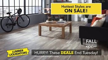 Lumber Liquidators Fall Flooring Kickoff TV Spot, 'New Hardwood: $1 Off' - Thumbnail 3