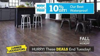 Lumber Liquidators Fall Flooring Kickoff TV Spot, 'New Hardwood: $1 Off' - Thumbnail 4
