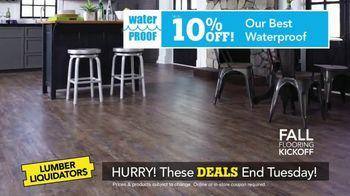 Lumber Liquidators Fall Flooring Kickoff TV Spot, 'New Hardwood: $1 Off' - Thumbnail 5