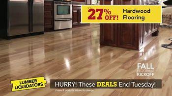 Lumber Liquidators Fall Flooring Kickoff TV Spot, 'New Hardwood: $1 Off' - Thumbnail 6