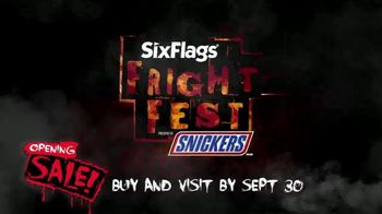 Six Flags Fright Fest Opening Sale TV Spot, 'Unleash the Terror' - Thumbnail 10