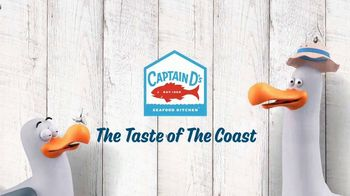 Captain D's Seaside Deals TV Spot, 'Shrimp & Fish' - Thumbnail 9