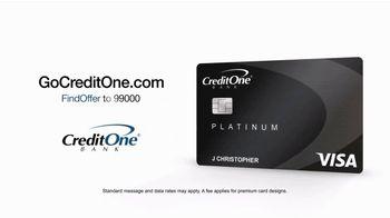Credit One Bank Platinum Card TV Spot, 'TMI at the Movies' - Thumbnail 10