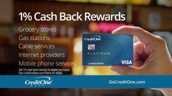 Credit One Bank Platinum Card TV Spot, 'TMI at the Movies' - Thumbnail 6
