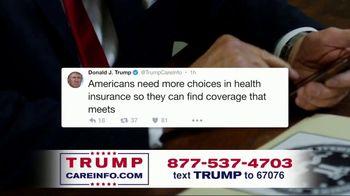 Trump Care Info TV Spot, 'Making Healthcare Great Again'