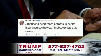 Trump Care Info TV Spot, 'Making Healthcare Great Again'