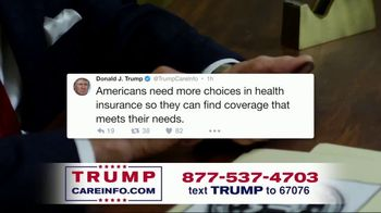 Trump Care Info TV Spot, 'Making Healthcare Great Again' - Thumbnail 2