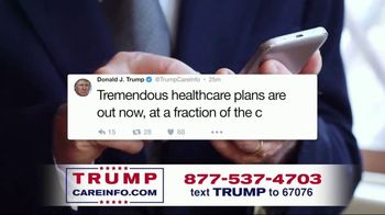 Trump Care Info TV Spot, 'Making Healthcare Great Again' - Thumbnail 4