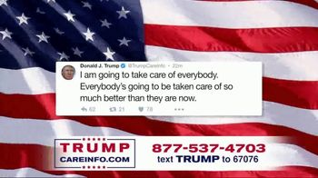 Trump Care Info TV Spot, 'Making Healthcare Great Again' - Thumbnail 5