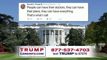 Trump Care Info TV Spot, 'Making Healthcare Great Again' - Thumbnail 8