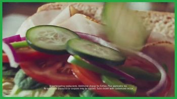 Subway Sub of the Day TV Spot, 'Different Every Day: $3.89' - Thumbnail 9