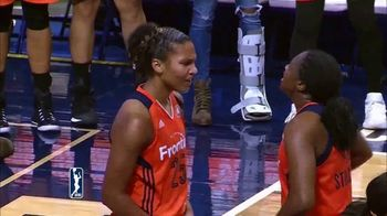 WNBA TV Spot, 'Watch Me Work 3.0: Alyssa Thomas' - 34 commercial airings