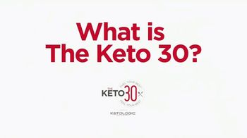 KetoLogic TV Spot, 'What Is the Keto 30 Challenge?'