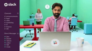 Slack TV Spot, 'There's a Channel for That: Marketing'