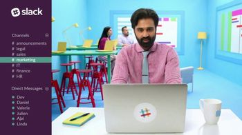 Slack TV Spot, 'There's a Channel for That: Marketing' - Thumbnail 5