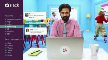 Slack TV Spot, 'There's a Channel for That: Marketing' - Thumbnail 6