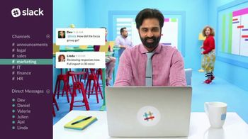 Slack TV Spot, 'There's a Channel for That: Marketing' - Thumbnail 7