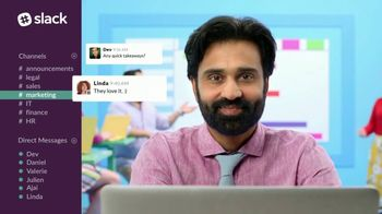 Slack TV Spot, 'There's a Channel for That: Marketing' - Thumbnail 8